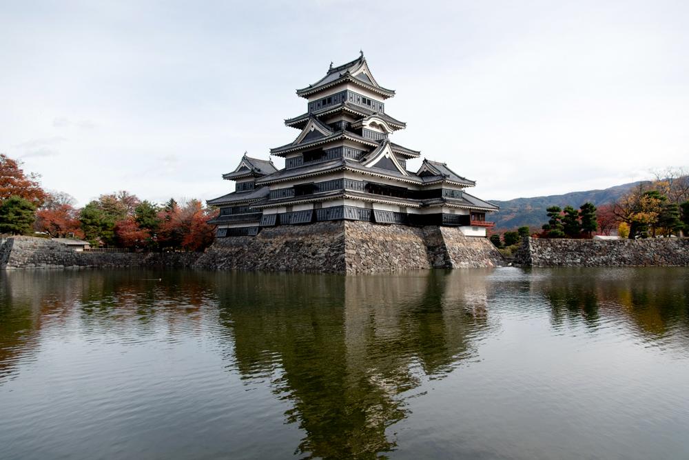 【古城見聞録】松本城(長野県松本市)