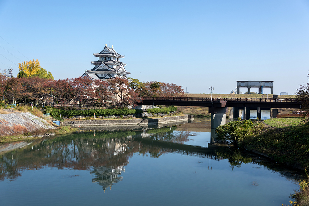 【古城見聞録】墨俣城(岐阜県大垣市)