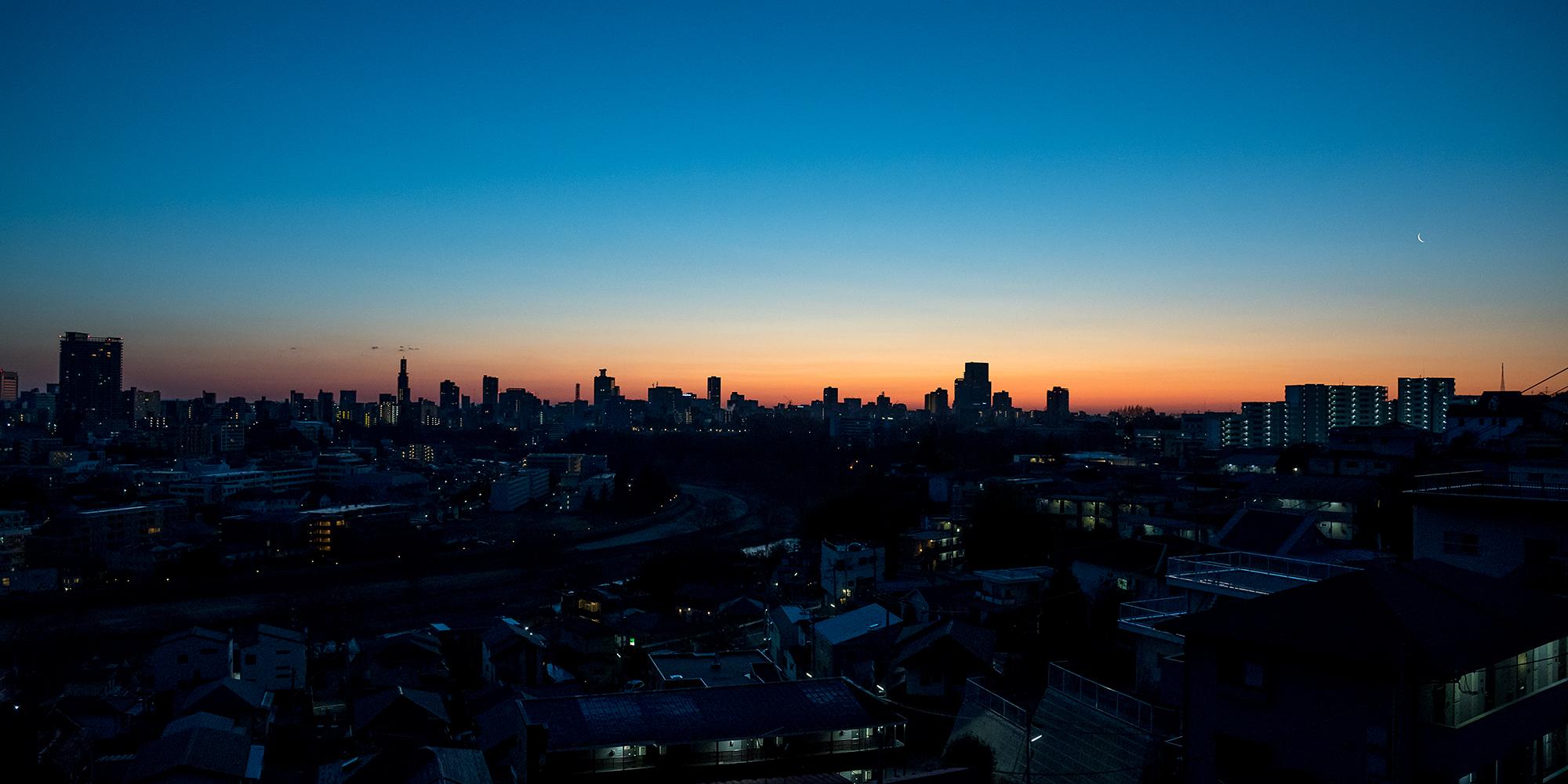 Sendai City Beaking Down
